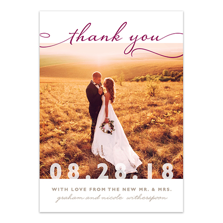Gorgeous Photo Cards & Options for Your Personal Message!